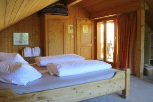 Suite Calanda mit Bad/WC auf der Etage